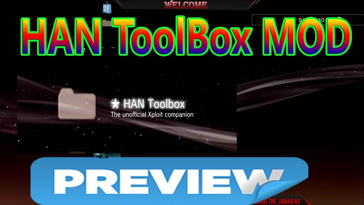 Preview HAN ToolBox MOD With FreeShop HAN PS3