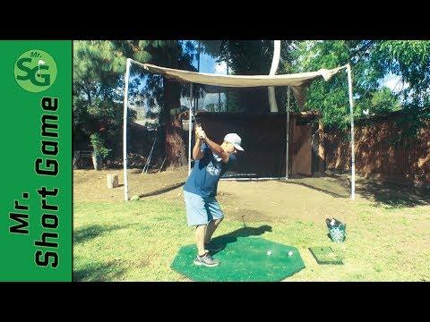 How To Build a Golf Hitting Net    Golf Swing Net
