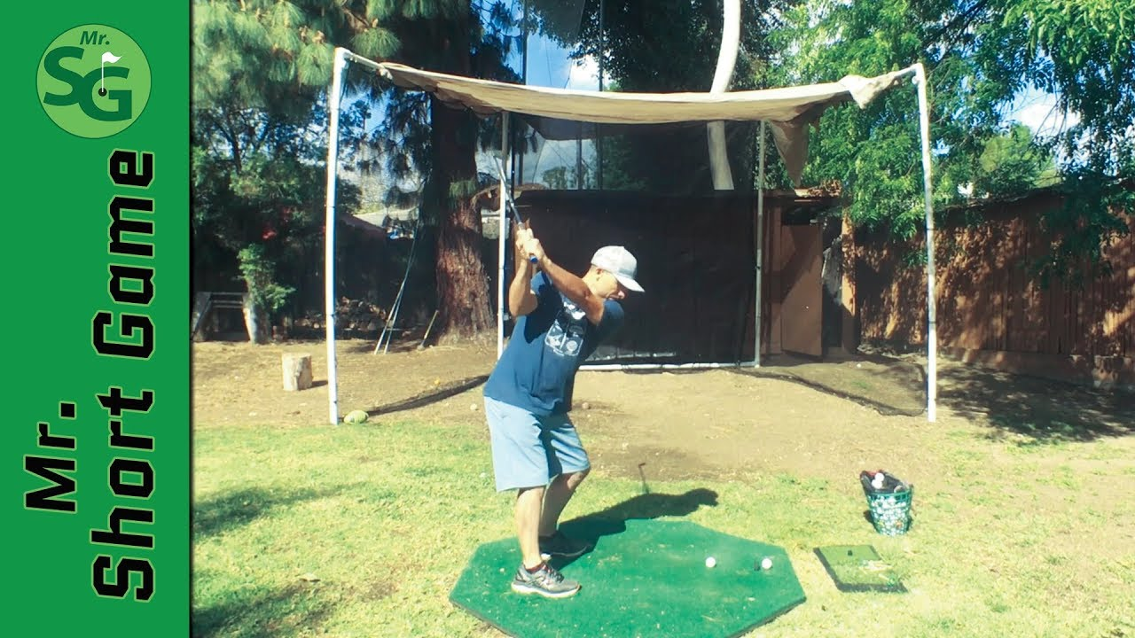 How To Build a Golf Hitting Net || Golf