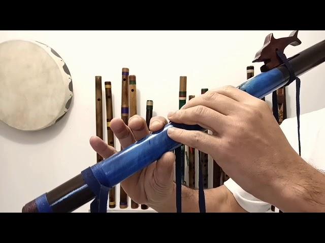 Flauta Nativa Golfinho G