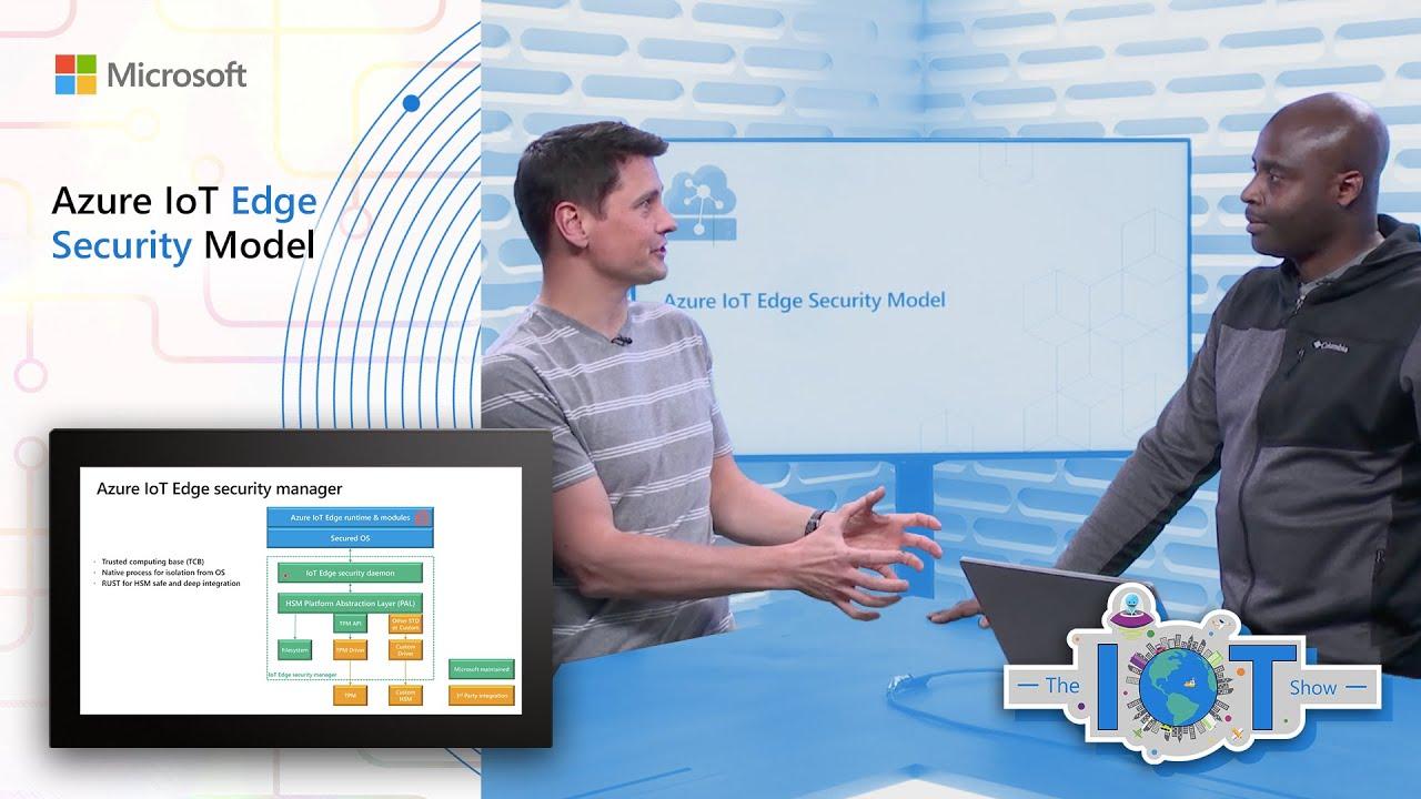 Video: Das Azure IoT Edge Security Model