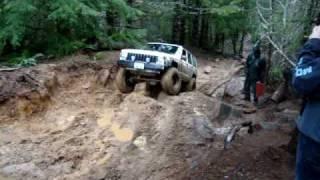 james and jeep at browns camp at tsf