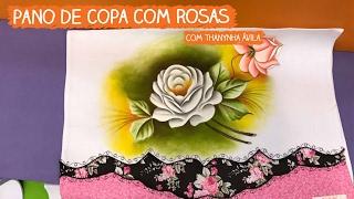 Pano de Copa com Rosas – Thanynha Ávila