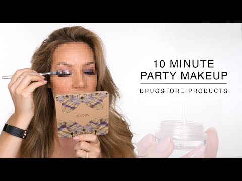 10 Minute Party Makeup Tutorial | Shonagh Scott thumbnail