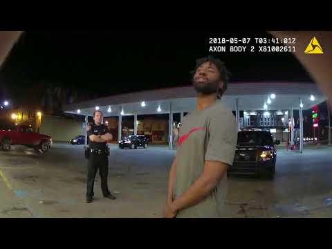 Officers arrest man