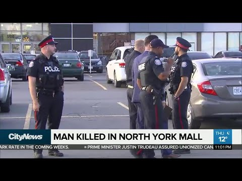 Man dies in shooting at North York mall