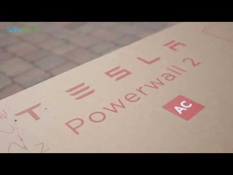 Use your generated solar energy day and night with the Tesla powerwall!