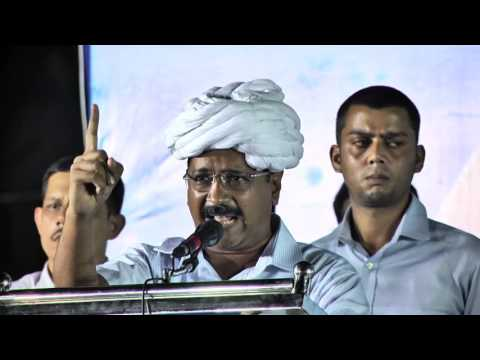 Arvind Kejriwal Addresses People at Surat