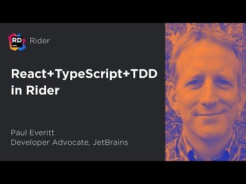 React + TypeScript + TDD in Rider thumbnail