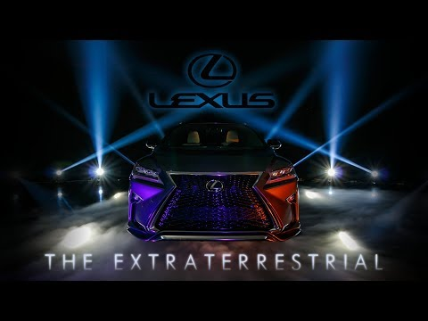 Lexus RX200t F Sport - The Extraterrestrial