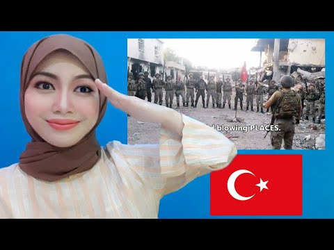 Turkish Commando Poem and March | Indonesian Reaction
