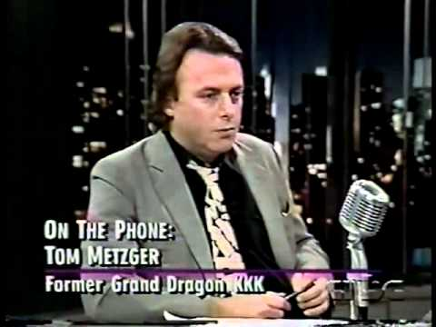 Christopher Hitchens VS John And Tom Metzger