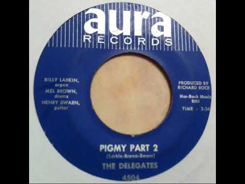 Billy Larkin and the Delegates    Pigmy    (part two)