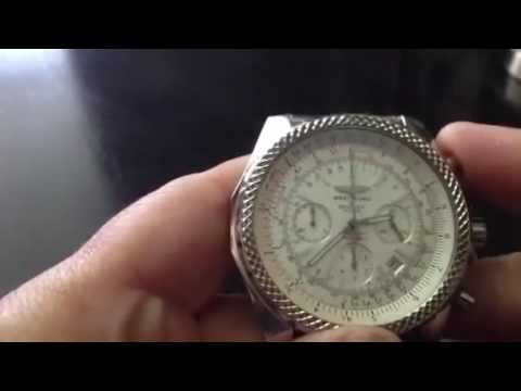Breitling bentley real vs fake authentic real vs replica a25364instagram nebula watches