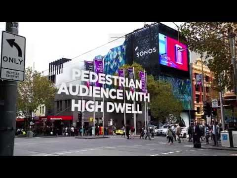 Full Motion Digital Billboard | oOh! - Emporium, Melbourne VIC