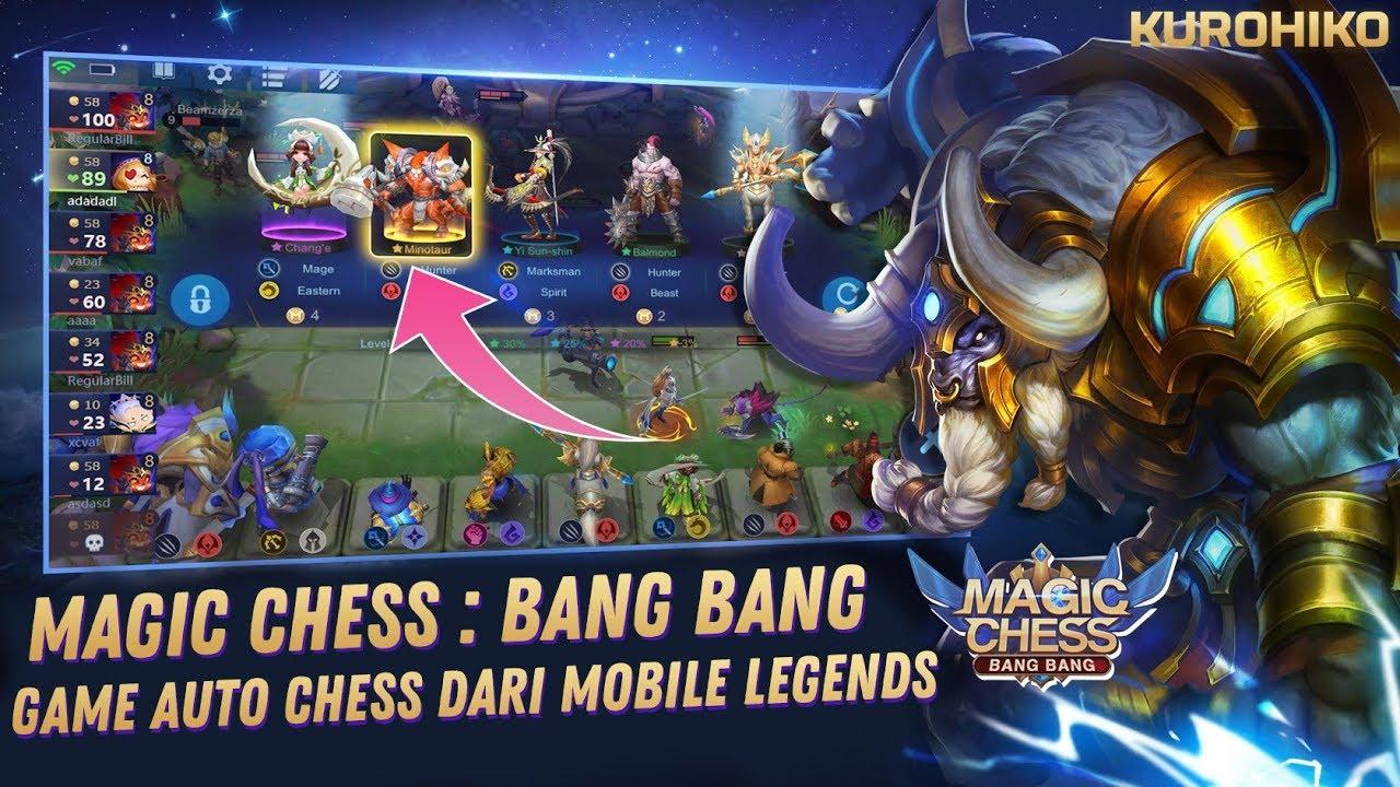 magic chess bang bang auto chess