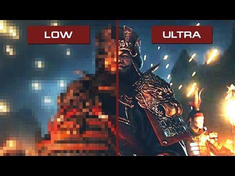 Total War: Three Kingdoms - Low vs Ultra Graphics [Gameplay Comparison]