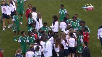 U20 Frauen WM 2014 Finale Nigeria   Deutschland Verlängerung