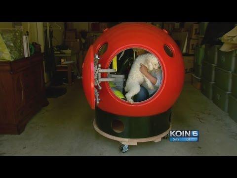 Kristina Kage - Tsunami pod gives Long Beach woman peace of mind