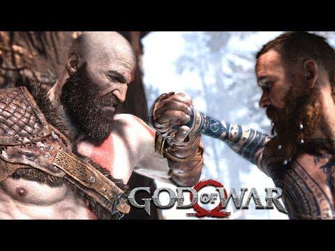 GOD OF WAR - O INÍCIO DA HISTÓRIA COM PORRADARIA! (Gameplay em 4K do PS4 Pro)
