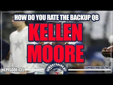 Dallas Cowboys OK with Kellen Moore as #2QB