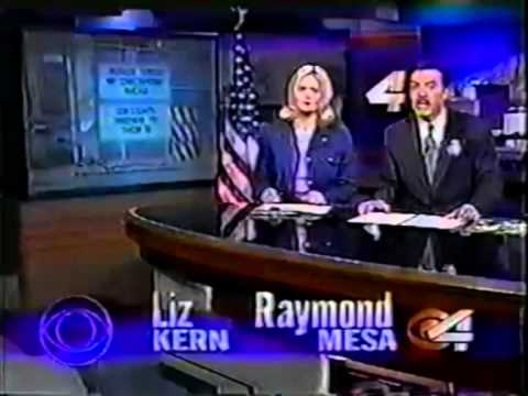 KDBC-TV El Paso, Texas CBS CHANNEL 4 NEWS Open/Close October 2001
