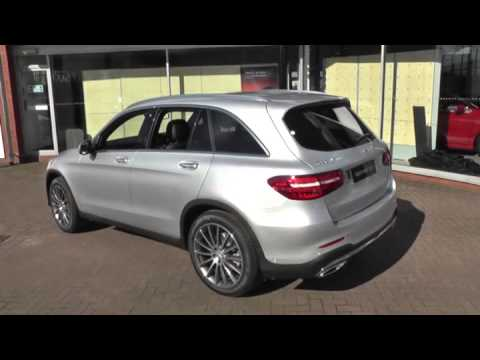 mercedes benz glc glc 250d 4matic amg line premium plus 5dr auto u42368 youtube. Black Bedroom Furniture Sets. Home Design Ideas