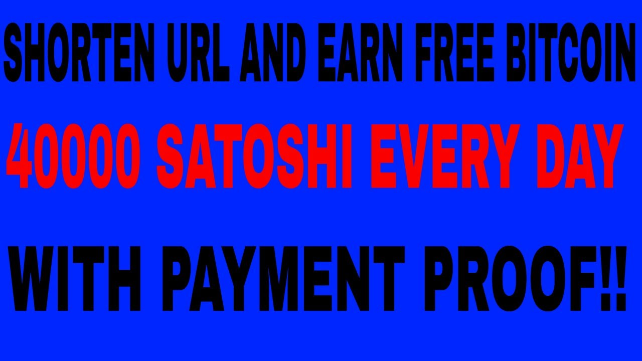 SHRINK URL AND EARN FREE BITCOIN|| URL SHORTENER AND EARN BITCOIN|| 1LINK.CC|| PAYMENT PROOF!! #1