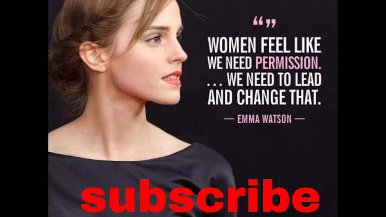 Top 10 Most Inspiring Emma Watson Quotes Youtube