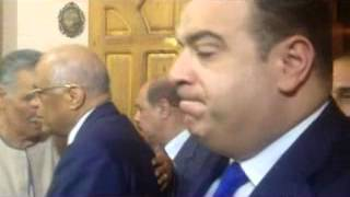 رئيس مجلس النواب ومحافظ الفيوم يقدمان واجب العزاء في وفاة النائب محمد مصطفي الخولى