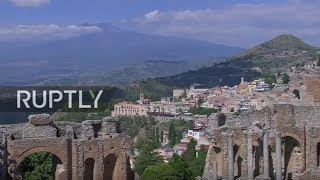 LIVE  G7 summit in Taormina  day 2