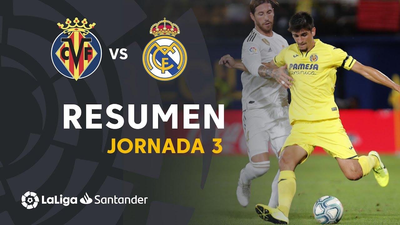 Villarreal vs Real Madrid en vivo
