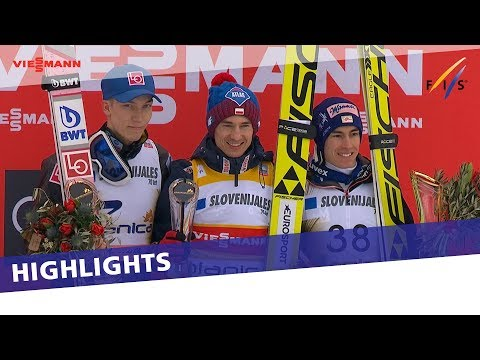 Kamil Stoch soars to victory in Planica Flying Hill | Highlights