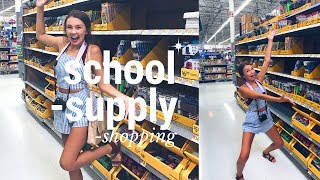 School Supply Shopping Vlog 2017 I Grace Smith