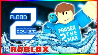 A Most Miserable Demise! ☠️ in Roblox Flood Escape 2