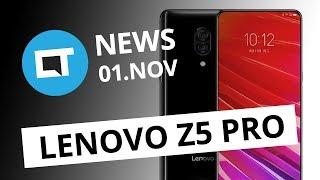 Lenovo Z5 Pro com tela deslizante; WhatsApp vai mostrar anúncios no Status e+ [CT News]