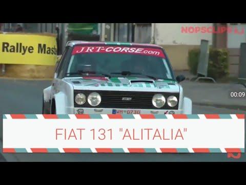Fiat 131 Alitalia .....Mitica manovra 😊