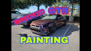 Rebuilding A Wrecked 2014 GTR  part 3