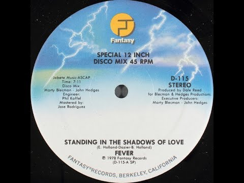 Fever - Standing In The Shadows Of Love (1978 Disco)