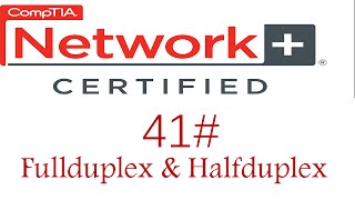 N + course #half duplex Vs Fullduplex & Hub Vs Switch #كورس نيتورك بلاس 41