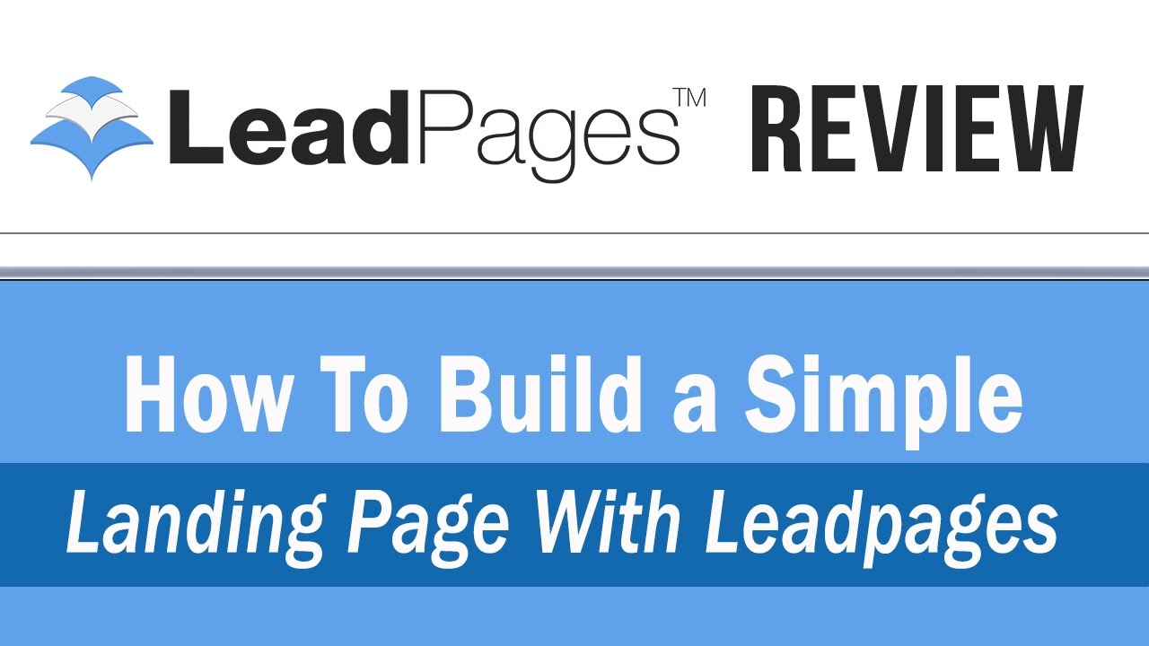 Leadpages Review Youtube