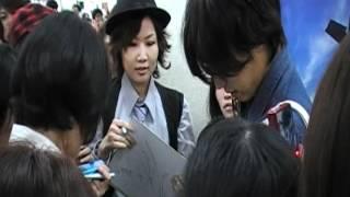 2012-6-29號 假面騎士 W 桐山 漣 (左 翔太郎)  台灣行  松山機埸 送機3 完結