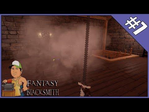 Fantasy Blacksmith S2 E7 - Rib Breaker, Damascus, Magic, Spell and Enchantments |