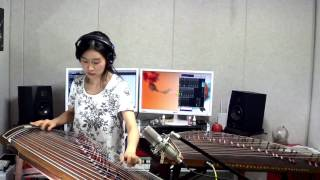 태양-눈,코,입 / Taeyang- Eyes, Nose, Lips Gayageum by Luna