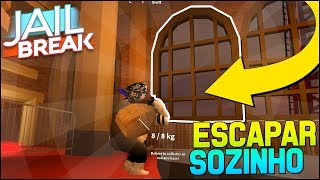 😃 NEW BUG TO ESCAPE FROM THE MUSEUM ALONE | Roblox Jailbreak 🚔🚨