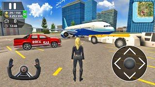 비행기 비행 조종사 시뮬레이터-엔진 고장 비상 착륙-Android 게임 플레이