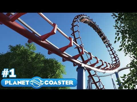 Let's Build the Ultimate Theme Park! - Planet Coaster - Part 1 (Opening Plaza)