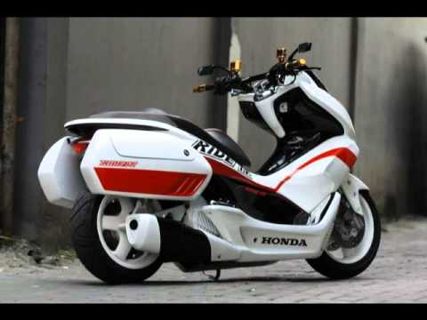Honda Pcx150 Scooter Review Modification Youtube