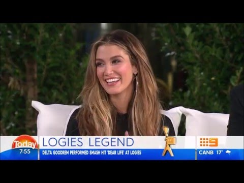 Delta Goodrem - Today (9 May 2016)