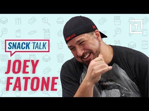 NSYNC's Best Road Trip Snacks with Joey Fatone || Snack Talk